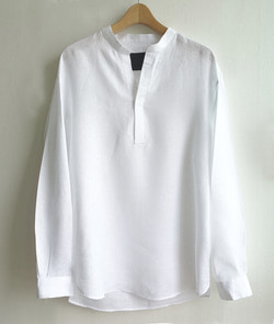 Tunic shirt / LUTHAI FRENCH LINEN